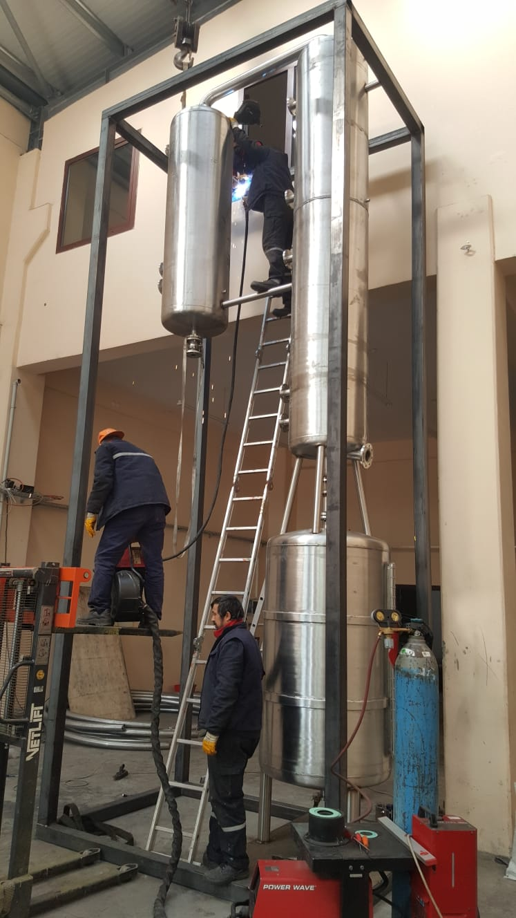 Production of Butyl Acetate plant